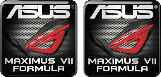 Picture of Asus Maximus VII Formula Gel Badges