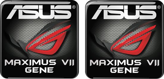 Picture of Asus Maximus IIV Gene Gel Badges