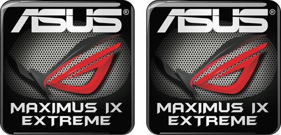 Picture of Asus Maximus IX Extreme Gel Badges