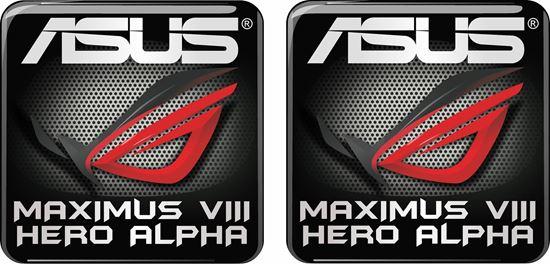 Picture of Asus Maximus VIII Alpha Gel Badges