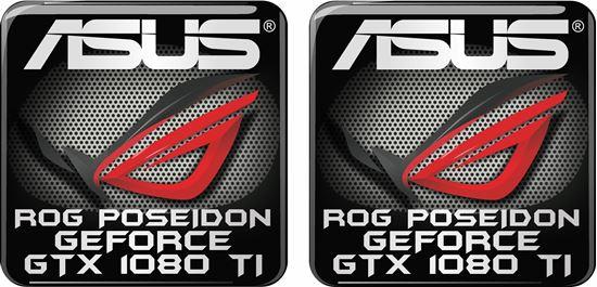 Picture of Asus Rog Poseidon Geforce GTX 1080 TI Gel Badges