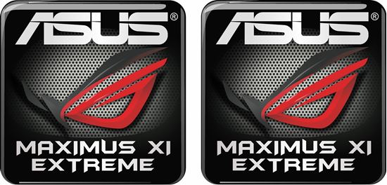 Picture of Asus Maximus XI Extreme Gel Badges