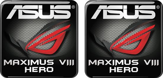 Picture of Asus Maximus VIII Hero Gel Badges