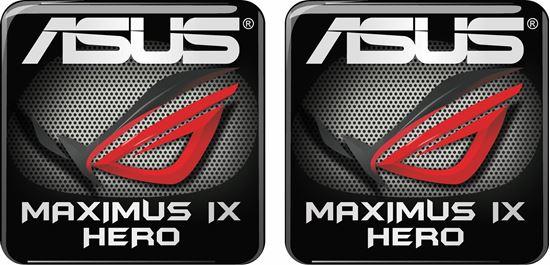 Picture of Asus Maximus IX Hero Gel Badges