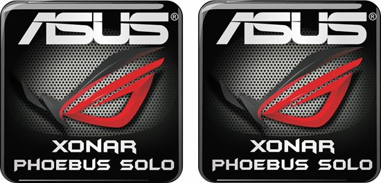 Picture of Asus Xonar Phoebus Solo Gel Badges