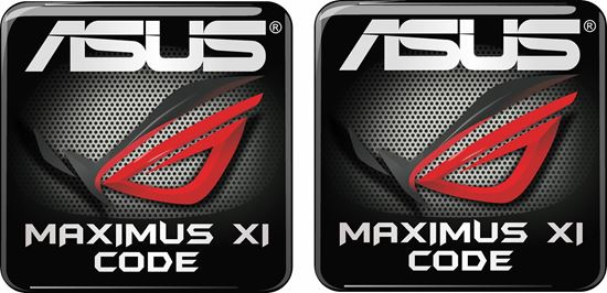 Picture of Asus Maximus XI Code Gel Badges