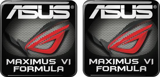 Picture of Asus Maximus VI Formula Gel Badges