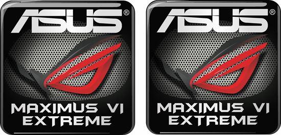 Picture of Asus Maximus VI Extreme Gel Badges