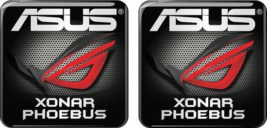Picture of Asus Xonar Phoebus Gel Badges
