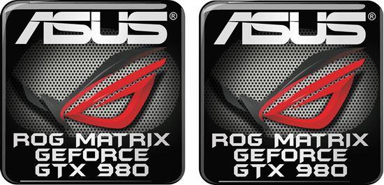 Picture of Asus Rog Matrix Geforce GTX 980 Gel Badges