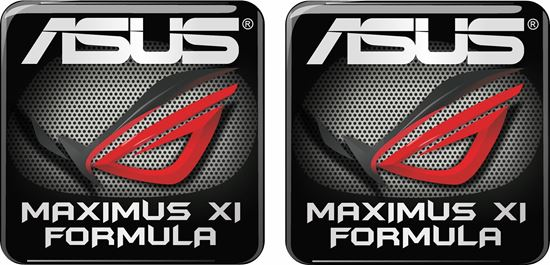 Picture of Asus Maximus XI Formula Gel Badges