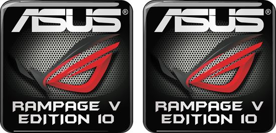 Picture of Asus Rampage Edition 10 Gel Badges