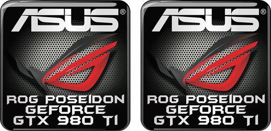 Picture of Asus Rog Poseidon Geforce GTX 980 TI Gel Badges