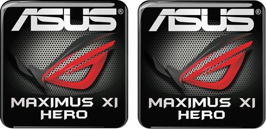 Picture of Asus Maximus XI Gene Gel Badges