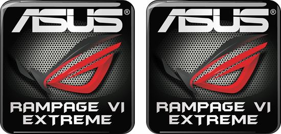 Picture of Asus Rampage VI Extreme Gel Badges