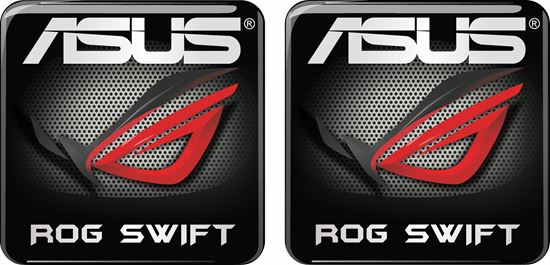 Picture of Asus Rog Swift Gel Badges