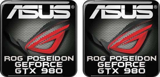 Picture of Asus Rog Poseidon Geforce GTX 980 Gel Badges