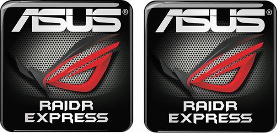 Picture of Asus Raidr Express Gel Badges