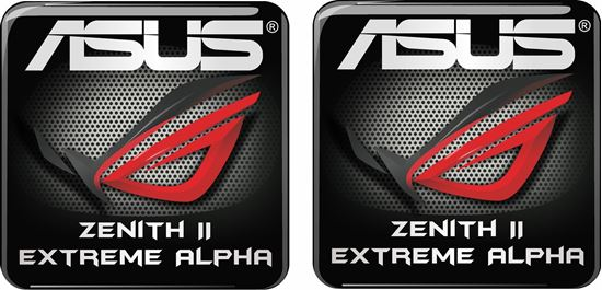 Picture of Asus Zenith II Extreme Alpha Gel Badges