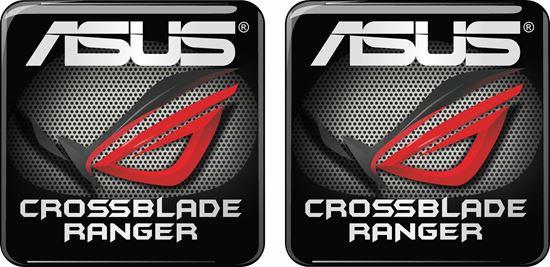 Picture of Asus Crossblade Ranger Gene Gel Badges