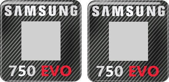 Picture of Samsung 750 Evo Gel Badges