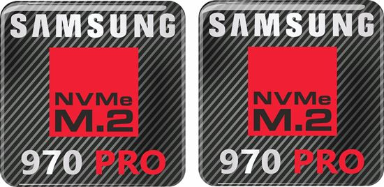 Picture of Samsung 970 Pro Gel Badges