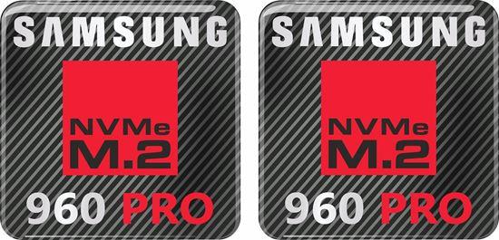 Picture of Samsung 960 Pro Gel Badges