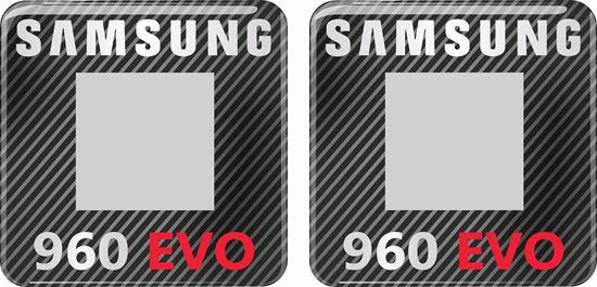 Picture of Samsung 960 Evo Gel Badges