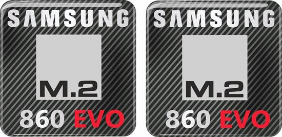 Picture of Samsung 860 Evo Gel Badges