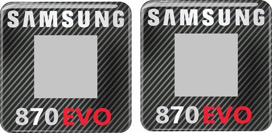 Picture of Samsung 870 EVO Gel Badges