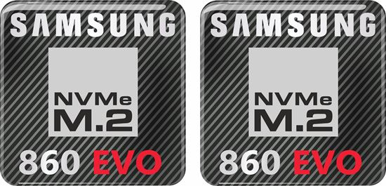 Picture of Samsung 860 Evo Gel Badges