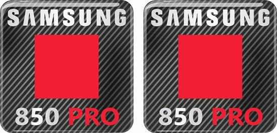 Picture of Samsung 850 Pro Gel Badges