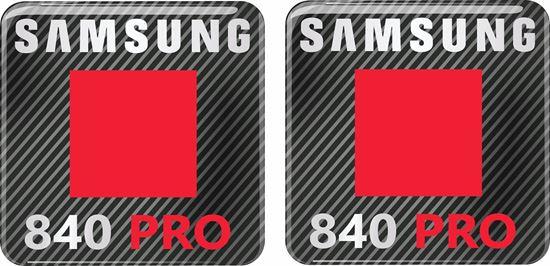 Picture of Samsung 840 Pro Gel Badges