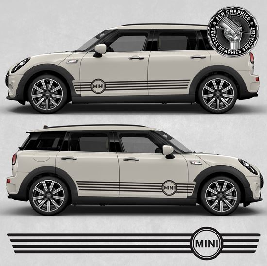 Picture of Mini Clubman F54 side Stripes