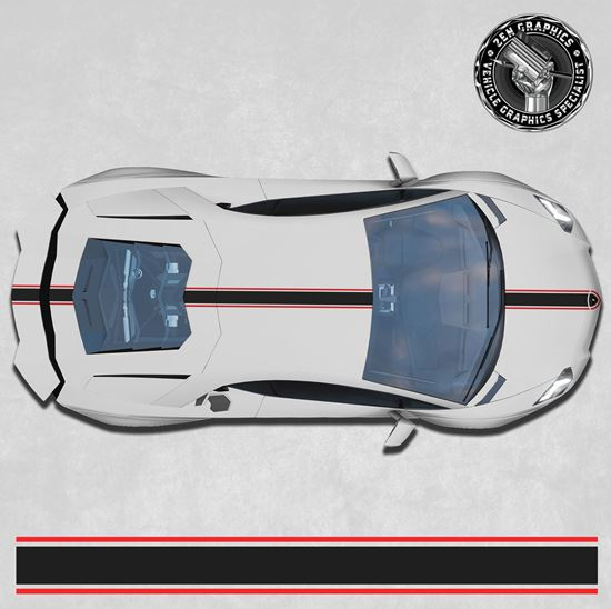 Picture of Aventador over the top Stripes