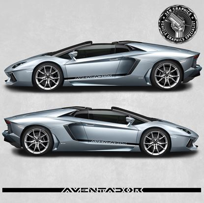 Picture of Aventador side Stripes