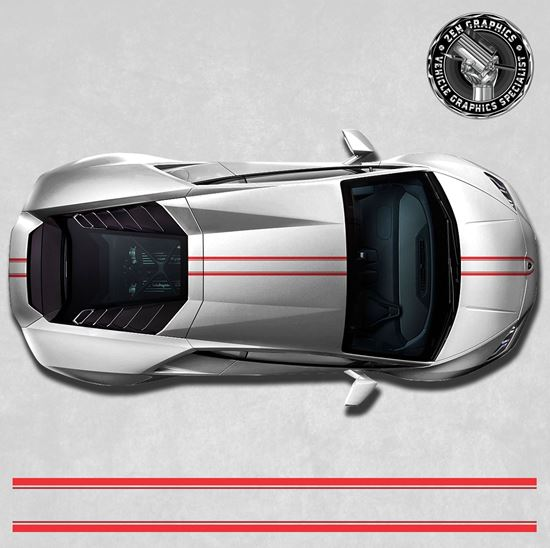 Picture of Huracan over the top Stripes