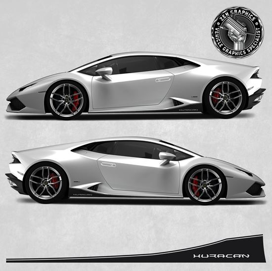 Picture of Huracan Side Stripes