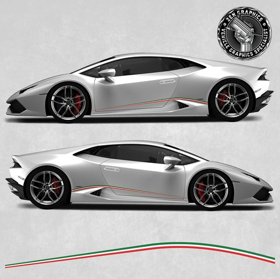 Picture of Huracan Italian side Stripes