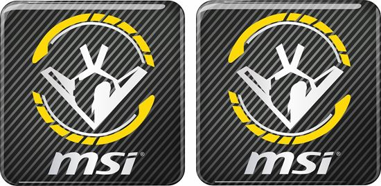 Picture of MSi  Gel Badges