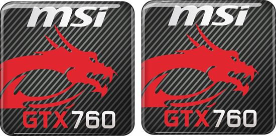 Picture of MSi GTX 760 Gel Badges