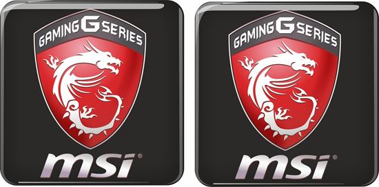 Picture of MSi Gaming G Series Gel Badges
