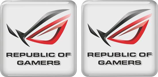 Picture of Asus Republic of Gamers Gel Badges