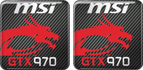 Picture of MSi GTX 970 Gel Badges