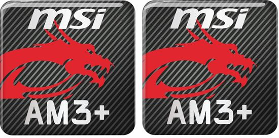 Picture of MSi AM3+ Gel Badges