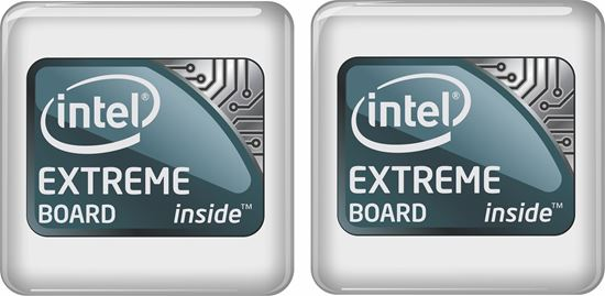 Picture of Intel Extreme Board Badges