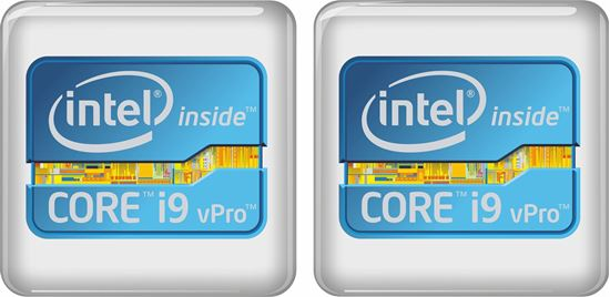 Picture of Intel Core i9 vPro Badges