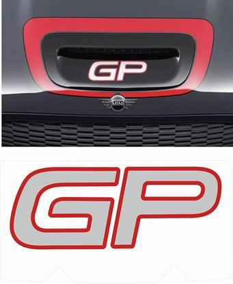 Picture of Mini R56 GP Bonnet Scoop Decal / Sticker