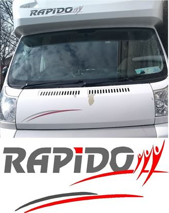 Picture of Rapido Bonnet and Roof replacement Decals / Stickers