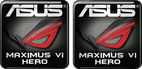 Picture of Asus Maximus VI Hero Gel Badges